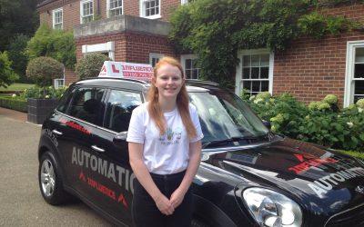 Congratulations Emily Holmes