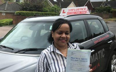 Congratulations Shirani Krishnakumar